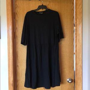 Black ASOS Babydoll dress